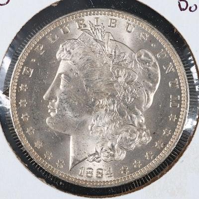 1884-O Silver Morgan Dollar