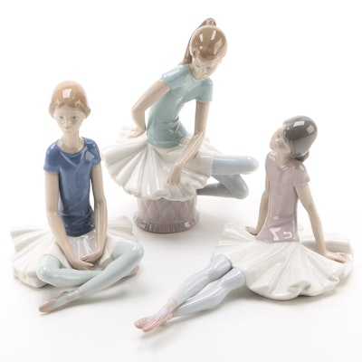 "Lladró Porcelain Figurines Including ""Ballet Blue"" by Juan Huerta, 1971–1974"