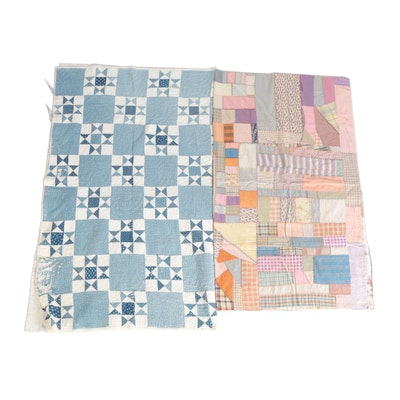 Handcrafted Geometric and Patchwork Quilts