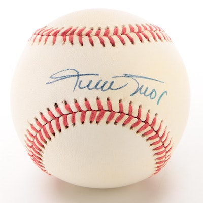 Willie Mays Signed National League Baseball