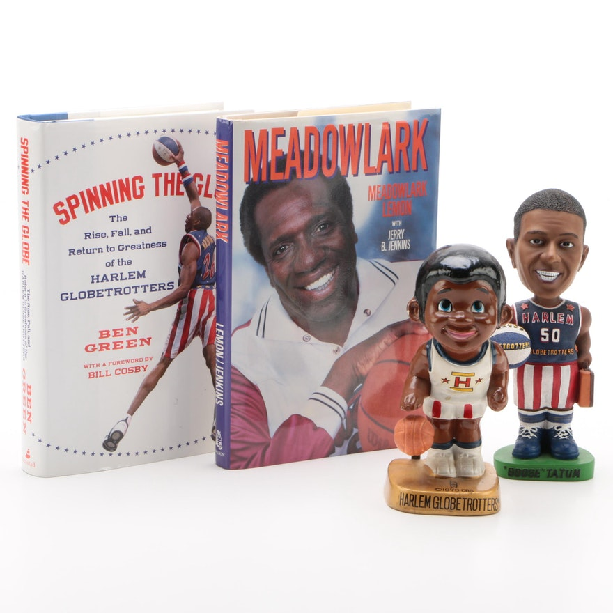 """First Edition """"Meadowlark"""" with Harlem Globetrotter Collectibles"""