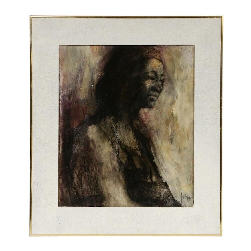 """Portrait Oil Painting """"Olivia"""""""