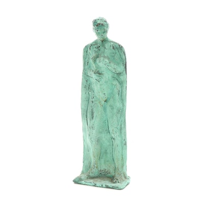John Tuska Figural Bronze Sculpture