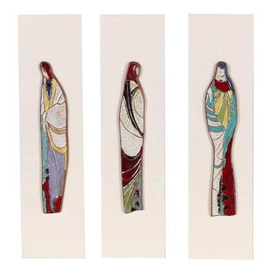 Glazed Terracotta Figural Art Tiles