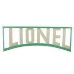 Benchmark Lionel Trains Wood Display Sign, Contemporary