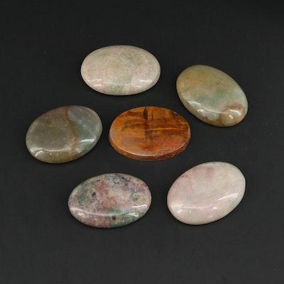Loose Jasper Gemstones