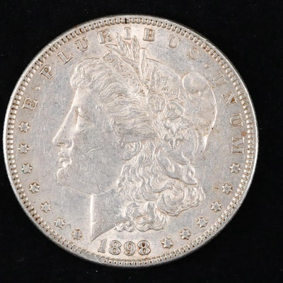 1898 Silver Morgan Dollar