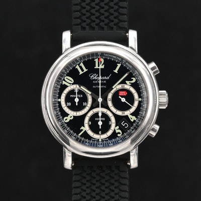 Chopard Mille Miglia Stainless Steel Automatic Chronograph Wristwatch