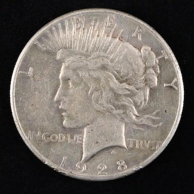 Key Date 1928 Silver Peace Dollar