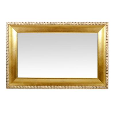 Gilt Finish Gadroon Rectangular Mirror
