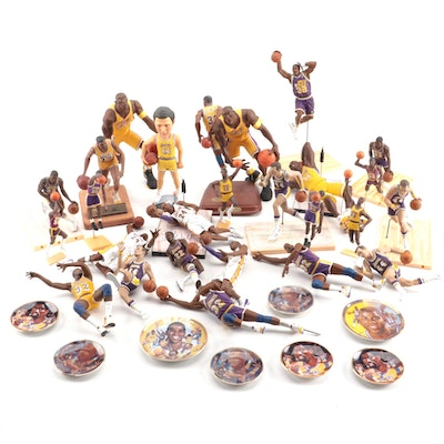 Los Angeles Lakers Action Figures Including Bryant, West, Johnson, and More