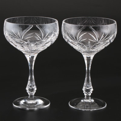Nachtmann Crystal Champagne Coupes