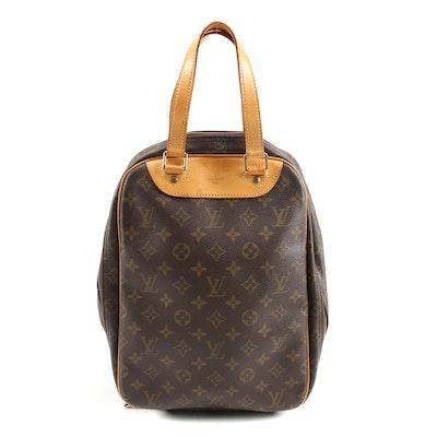 Louis Vuitton Monogram Canvas Excursion Shoe Bag