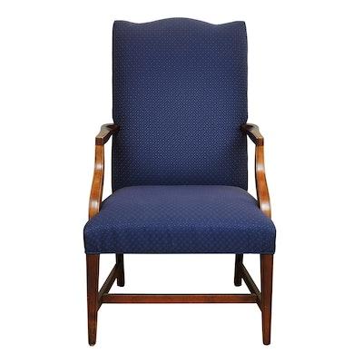 "Ethan Allen ""Martha Washington"" Upholstered Armchair"