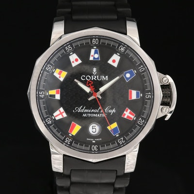 Corum Admiral Cup Trophy 41 Stainless Steel Automatic Wristwatch
