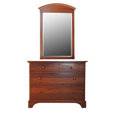 "Ethan Allen ""American Impressions"" Dresser with Wall Mirror"