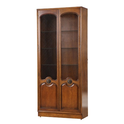 Fine Arts Furniture Co., French Provincial Style Cherry Display Cabinet