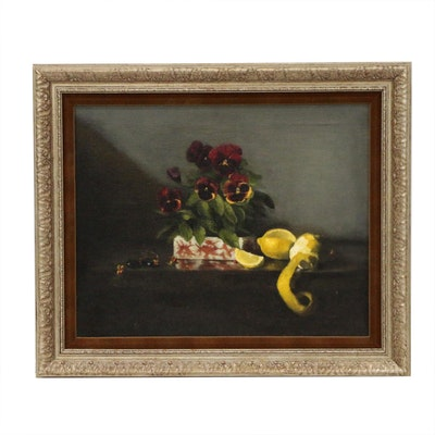 J.M. Dilorio Still Life Oil Painting