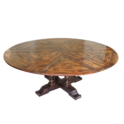 "Theodore Alexander Castle Bromwich ""Sylvan II"" Round Jupe Dining Table"