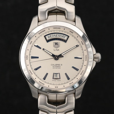 TAG Heuer Link Calibre 5 Day - Date Automatic Wristwatch