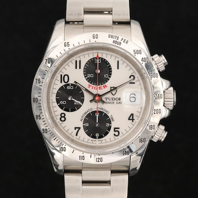 Tudor Tiger Prince Date Automatic Chronograph Wristwatch