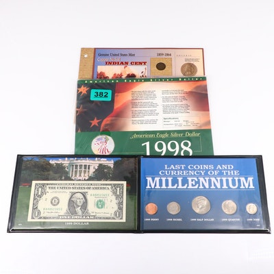 Three U.S. Coin Sets, Including Silver