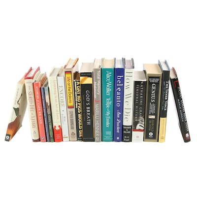 Fiction and Nonfiction Books Including Alice Walker and Katharine Graham