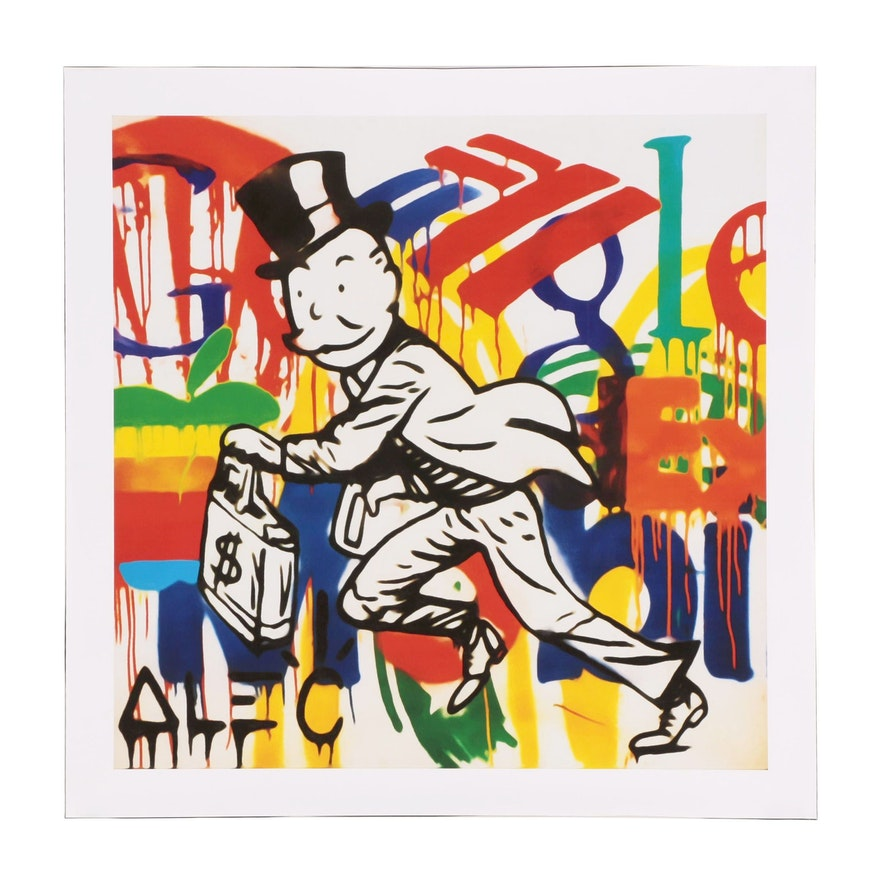 "Giclée after Alec Monopoly ""Corporatism"""