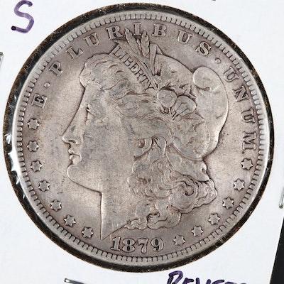 1879-S Reverse of 1878 Variety Morgan Silver Dollar