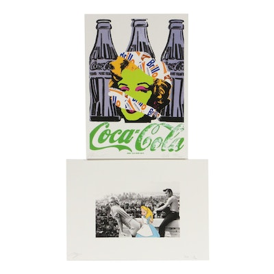 Missing Piece and RAW Graphic Prints Featuring Marilyn Monroe