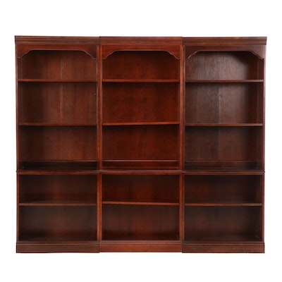 Hooker Furniture Cherry Sectional Bookcase, Mid-20th Century