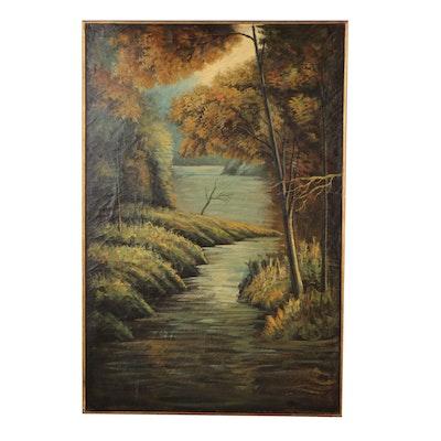 Uttermost Company Landscape Oil Painting