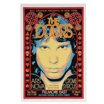 "David Edward Byrd Giclée ""The Doors - Debut - Fillmore East - 1968"""