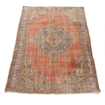 6'1 x 8'8 Hand-Knotted Northwest Persian Rug, 1930s