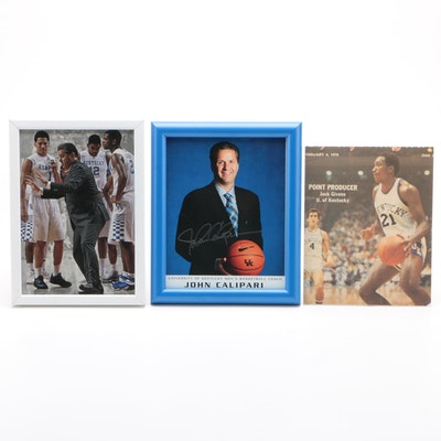 University of Kentucky Men's Basketball Signed Items