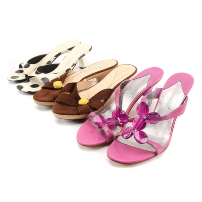Kate Spade, Via Spiga and A. Marinelli Heeled Sandals