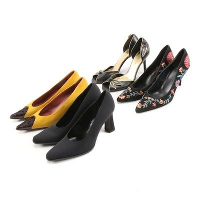 Via Spiga, Beverly Feldman, Sergio Rossi and BCBGirls d'Orsay Heels and Pumps