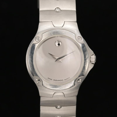 Movado Sports Edition Stainless Steel Wristwatch