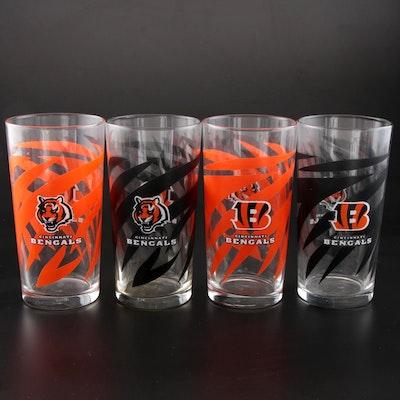 Libbey's Cincinnati Bengals Drinking Glasses