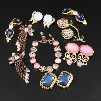 Multi-Colored Jewelry Assortment Featuring Designs by Mariana and Dauplaise
