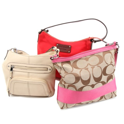 Kate Spade New York, Coach and Tignanello Shoulder Bags