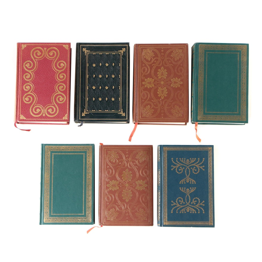 Finely Bound International Collectors Library, Seven Volumes