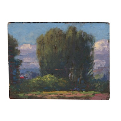 Will Hutchins Landscape Oil Painting