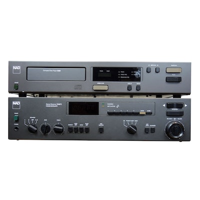 NAD 5330 Compact Disc Player and 7240PE Stereo Receiver