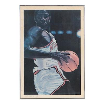 Framed Willie Reed Signed Limited Poster