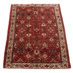 6'6 x 8'11 Hand-Knotted Indo-Persian Tabriz Rug, 1990s