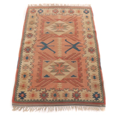4'1 x 6'8 Koknar Turkish Konia Village Rug, 1990s