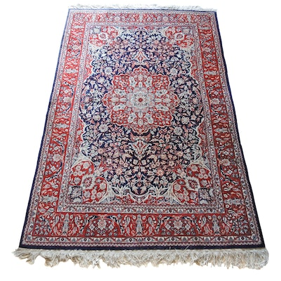 4.5' x 6.5' Junco Brand Tianjin Persian Hand-Knotted Area Rug