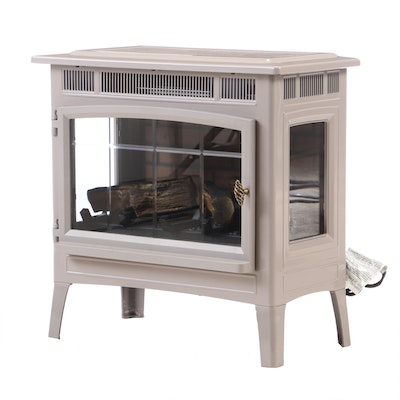 Movable Electric Room Heater Fireplace, Contemporary