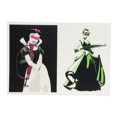 Death NYC Graphic Prints Featuring Disney Princesses, 2019